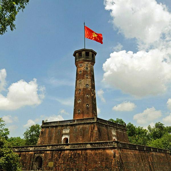 Kết quả hình ảnh cho Cột cờ Hà Nội